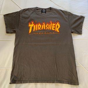 Thrasher Grey T-shirt Size M